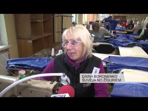 Latvijas – Krievijas pierobežā izveidots šūšanas cehs