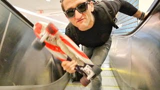 Download Youtube: AIRPORT SKATEBOARD SECRETS