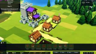 Kingdoms and Castles Gameplay (PC game)