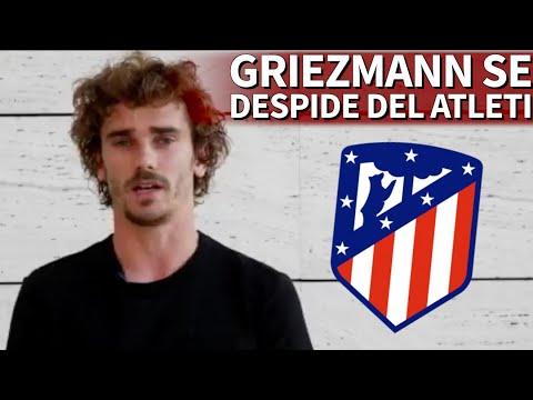 El mensaje de despedida de Griezmann al Atletico de Madrid tras 5 años | Diario AS