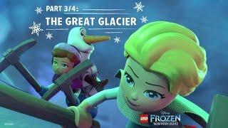 LEGO Disney Frozen Northern Lights (Part 3/4): The Great Glacier | Disney