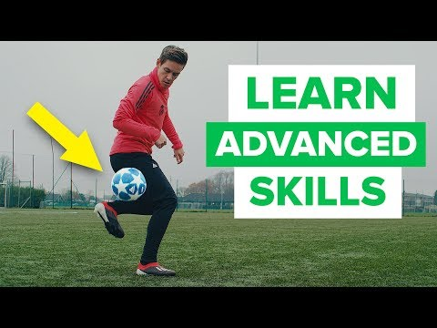 LEARN FLASHY FOOTBALL SKILLS | advanced skill moves