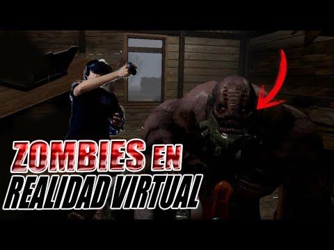 Juego COD Zombies en VR y pasa esto xD