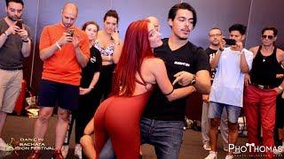Maurizio Bollo & Simona [Calipso] @ Dancin Bachata Fusion Festival 2019