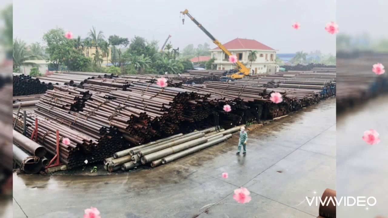 Thép ống đúc, thép ống hàn nhập khẩu và hạ bãi tại Công Ty Thép Ống Tuấn Long trong quý 1 năm 2020 !