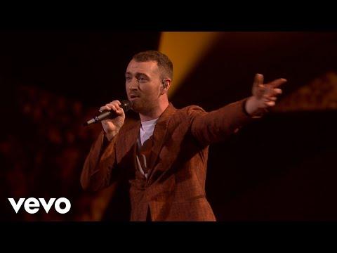 Sam Smith - Too Good At Goodbyes (Live at BRIT Awards 2018) (видео)