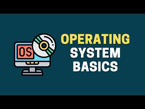 Operating system for beginners    Operating system basics