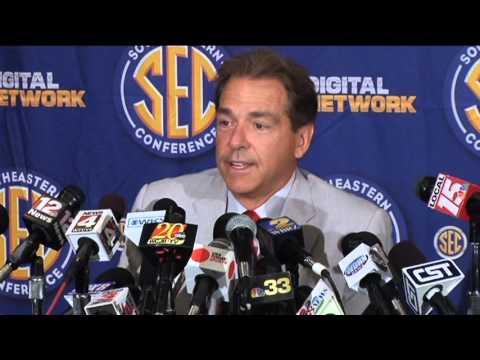 Nick Saban on social media and college football