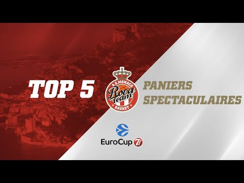 Top 5 Paniers spectaculaires EuroCup