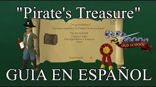 [OSRS] Pirate's Treasure Quest (Español)