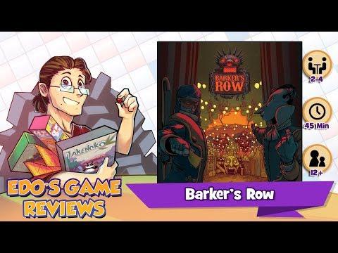 Edo's Barker's Row Review