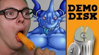 Gambar cover BLUE DRAGONBALL - Demo Disk Gameplay