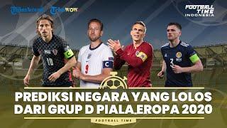 Prediksi Matchday Terakhir Grup D dan Peluang Lolos 16 Besar Euro 2020