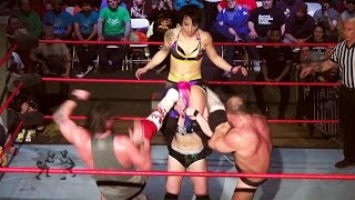 [Free Match] Heidi Lovelace (Ruby Riott) & Kimber Lee v Dickinson & Callihan (Intergender Wrestling)
