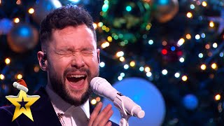 SUPERSTAR Calum Scott performs 'You Are The Reason' with MerseyGirls | BGT: Xmas