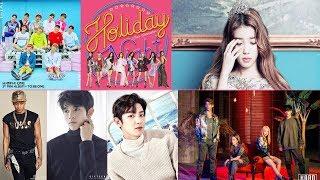 [TOP 50] 2017 - 9月 KKBOX 韓語人氣排行榜 (9 - 2更新)