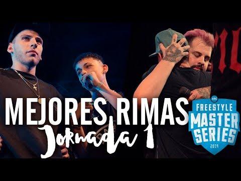 Las MEJORES RIMAS de la PRIMERA JORNADA de la FMS ARGENTINA 2019   Jornada 1 - FMS Córdoba
