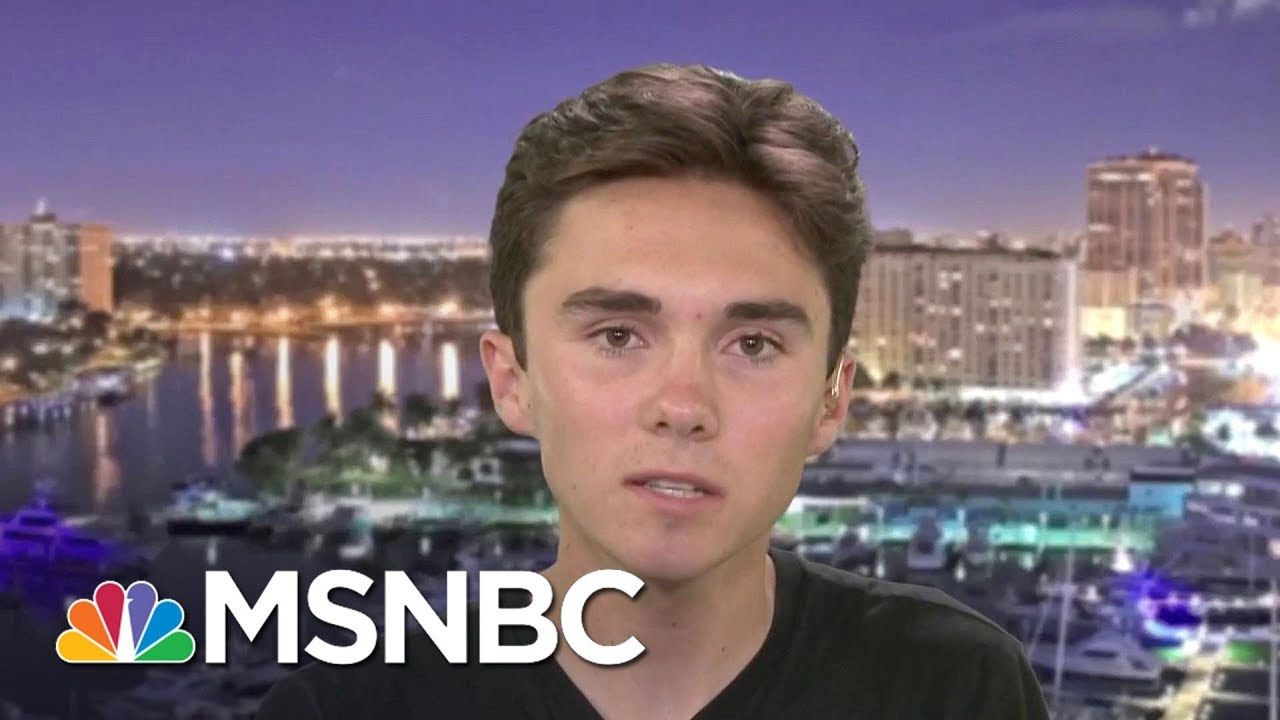 Donald Trump Blames Video Games, Parkland Student Proposes Real Policies   The Last Word   MSNBC thumbnail