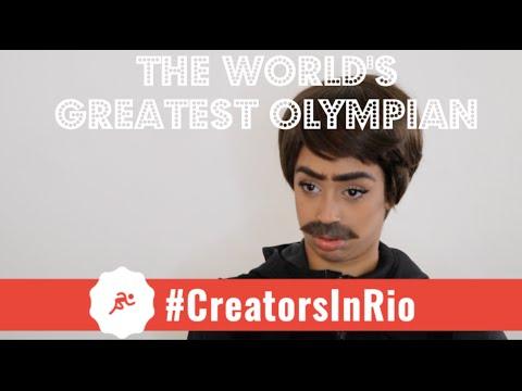 JET: THE WORLD'S GREATEST OLYMPIAN #CreatorsInRio