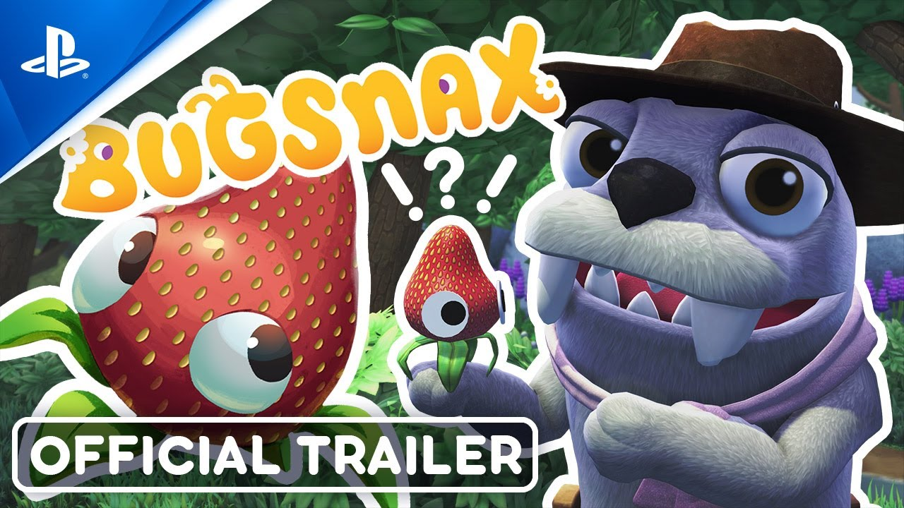 Half-bug, half-snack: Bugsnax arrives on PS5 this holiday