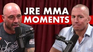 10 Most Revealing MMA Moments on The Joe Rogan Experience Podcast