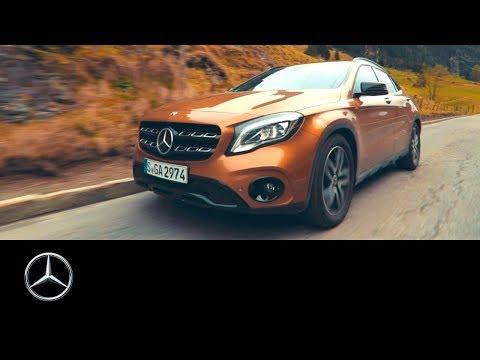 Mercedesbenz  Gla Class Паркетник класса J - рекламное видео 2