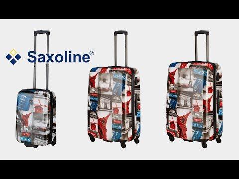 Saxoline - Ivory Biz Paris 4-Rollen-Trolley | koffer-direkt.de