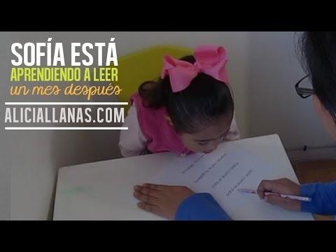 Ver vídeoSíndrome de Down: Sofía está aprendiendo a leer. Un mes después