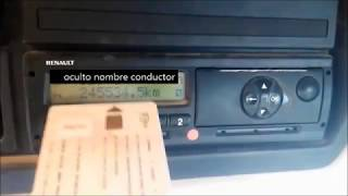 Tutorial Tacografo Siemens