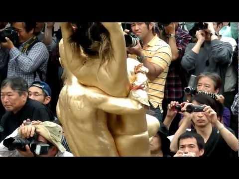 2012/10 大駱駝艦、金粉ショウ2、大須大道町人祭