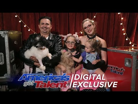 The Pompeyo Family Chat About Their Best In Show Performance - America's Got Talent 2017