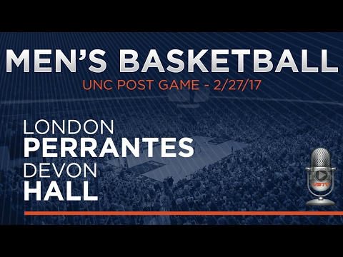 MEN'S BASKETBALL: UNC Post Game - Players