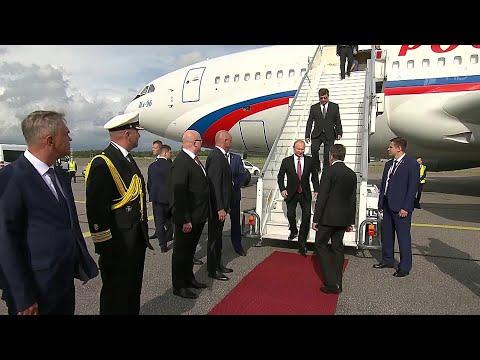 В Финляндии по окончании переговоров пройдет пресс-конференция Владимира Путина и Саули Ниинисте.