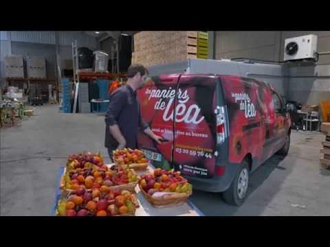 LES PANIERS DE LÉA accompagne les entreprises dans l'évolution des comportements alimentaires de leurs salariés