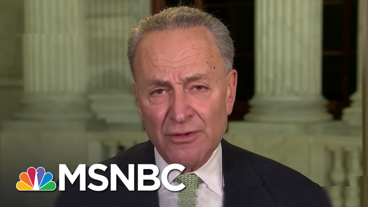 Chuck Schumer: Jeff Sessions Vote 'Turned My Stomach'   Rachel Maddow   MSNBC thumbnail