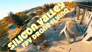 Silicon Valley DJI FPV Drone Flying