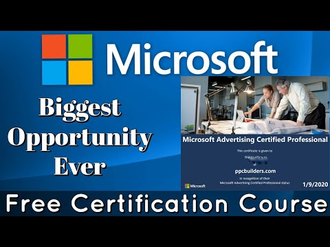 Microsoft Free Certification Course | Microsoft Online Courses with ...