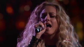 17 Year Old Emily Ann Roberts Sings Cam's Burning House   The Voice
