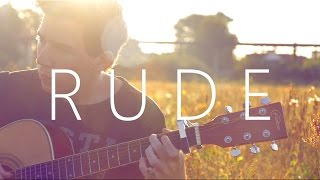 Rude - MAGIC! (fingerstyle guitar cover by Peter Gergely)