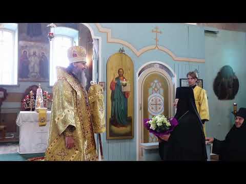 Проповедь митрополита Даниила в Верхнетеченском женском монастыре