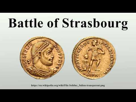 Battle of Strasbourg