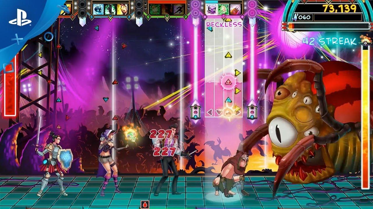 The Metronomicon: Slay the Dance Floor, eine Mischung aus Rhythmus-Actionspiel und RPG, groovt ab 29. August auf PS4