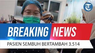 BREAKING NEWS Update Corona Indonesia 8 Oktober 2021: Pasien Sembuh Bertambah 3.514