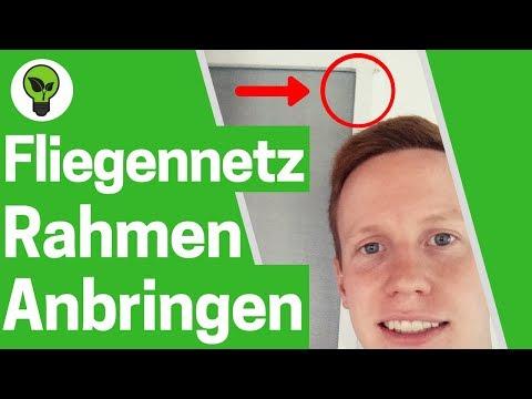 Insektenschutz Fenster ohne bohren ✅ TOP ANLEITUNG: Fliegengitter Spannrahmen - Mückenschutz Rahmen!