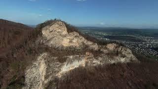 Cliffdiving bei der Ruine Frohburg DJI FPV (!!!Achtung, wilde und schnelle Kamerafahrten!!!)
