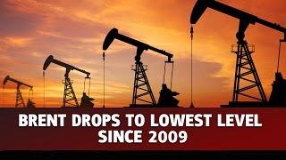BRENT CRUDE OIL Brent cai abaixo de 60 dólar