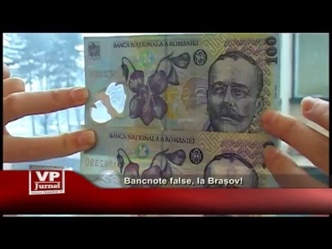 Bancnote false, la Brasov !