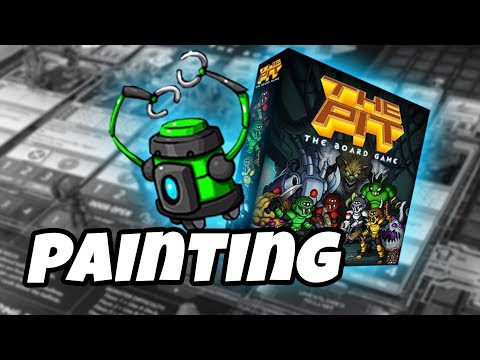 The Pit: The Board Game - how to paint SCAVENGER BOT
