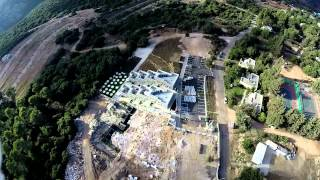 צילום אווירי של קמפוס הסטודנטים בקשת אילון
