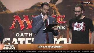 Pro Tour Oath of the Gatewatch Top 8 Announcement